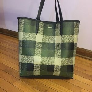 Lacoste Reversible Super Large Tote Bag